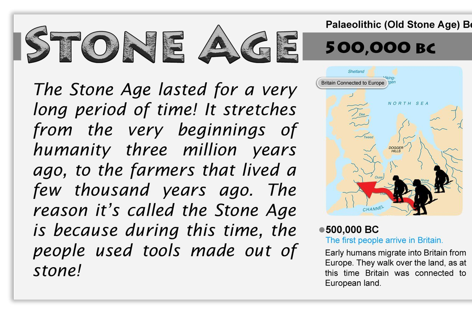 Stone Age Bronze Age And Iron Age Prehistoric History