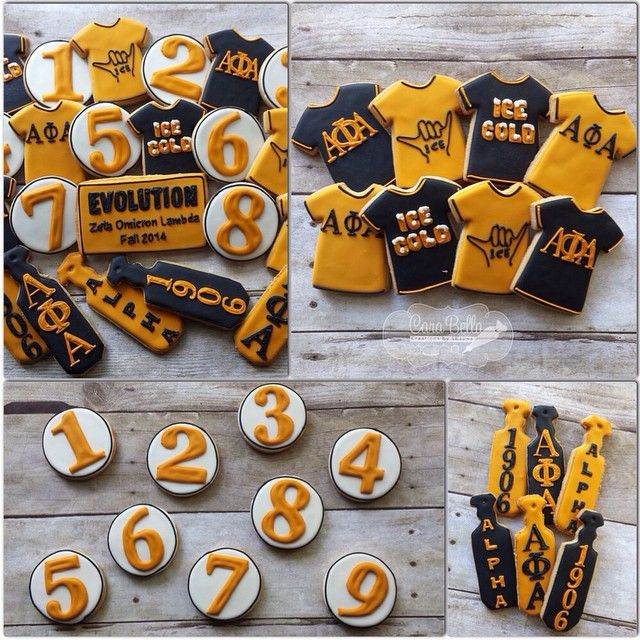 Alpha Phi Alpha Birthday Paraphernalia