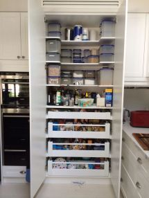 Kitchen Storage Pantry with Drawers
