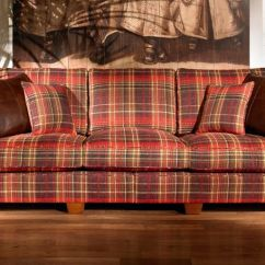 Scs Leather Corner Sofa Bed What To Put Behind My Tartan Desser Bath Kubu 2 Seater With ...