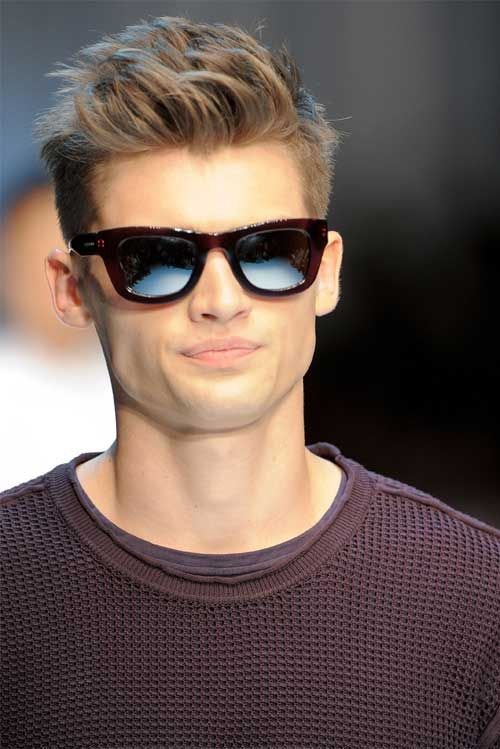 Edgy Hairstyles For Guys With Glasses For Summer Images 500