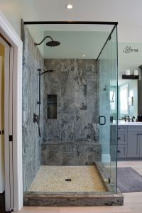 Grey Bathroom Fixtures With Awesome Image