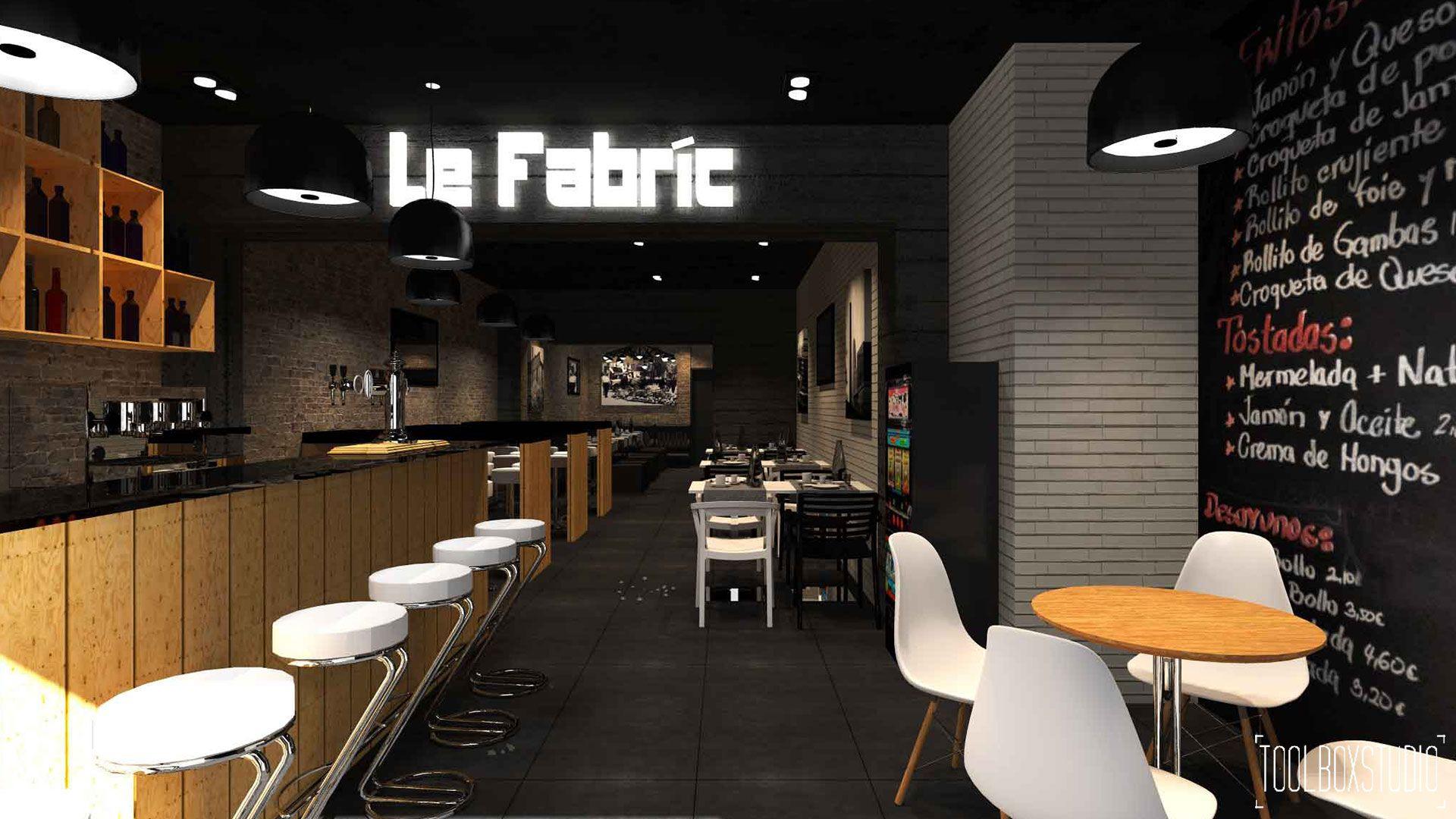 Diseno Interiores Restaurante Estilo Industrial 1