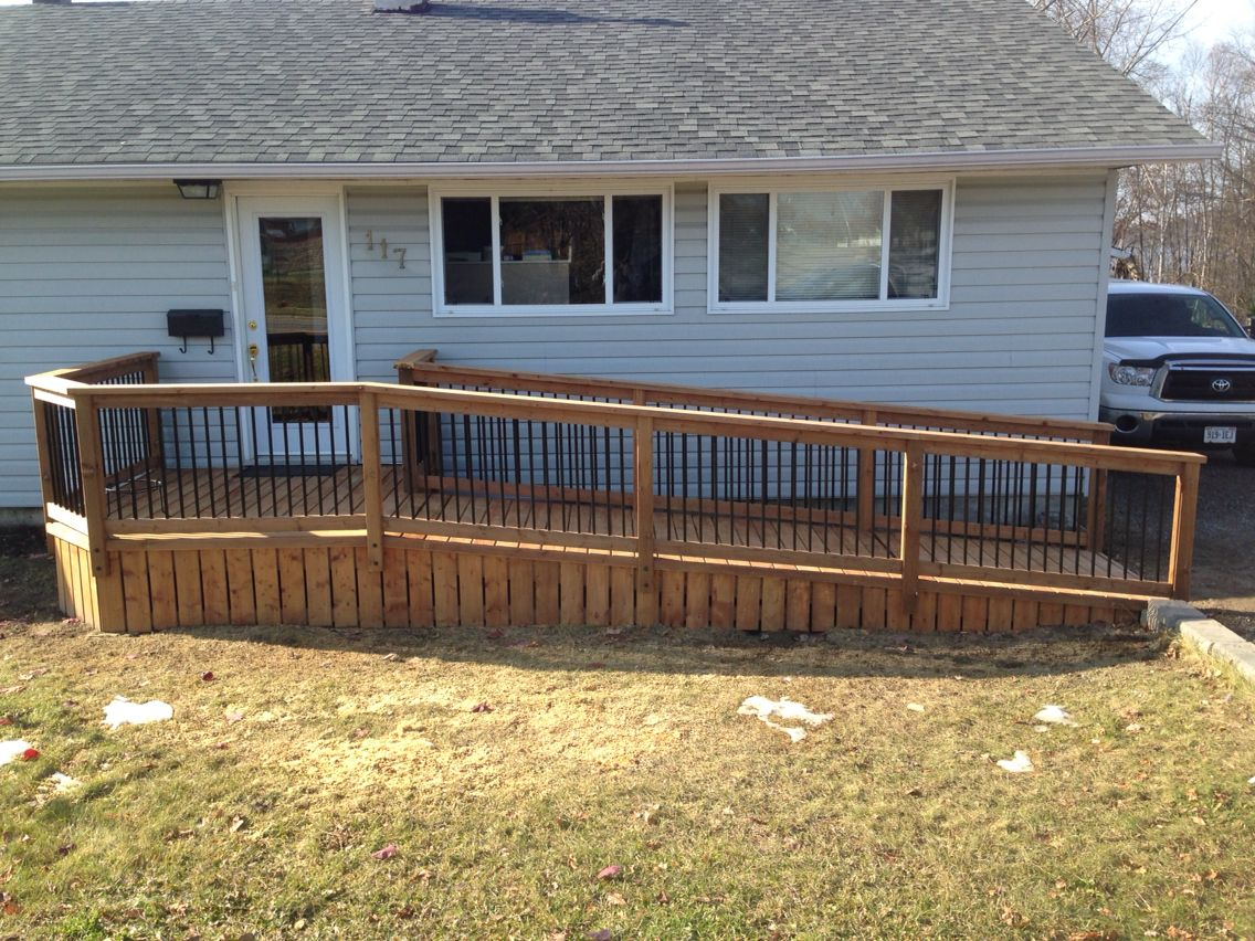 wheelchair housing design guide sitting chairs for living room nice looking deck with wheel chair ramp