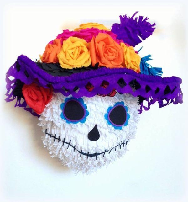 Piata Catrina. Halloween Ideas. De Muertos. Fete Des