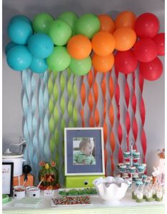 Balloon decoration ideas birthday party home archives kids hub also best images about brihanna on pinterest cakes rh