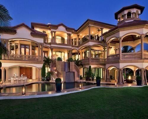 93 Awesome Big Rich Houses  Dream Homes  Pinterest  Big