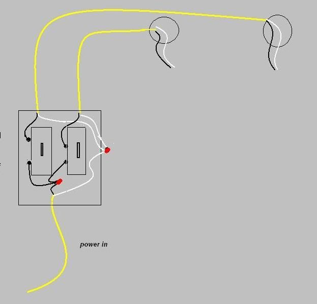 Simple Two Wire Dimmer Wiring Diagram : 37 Wiring Diagram
