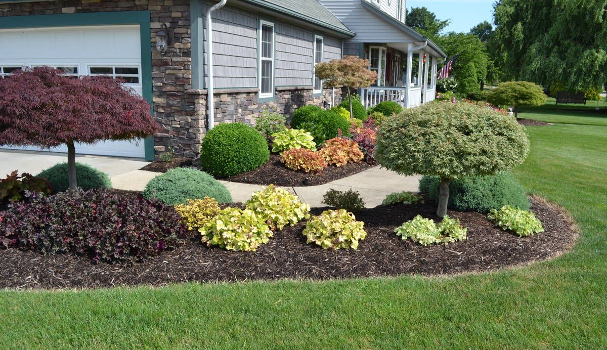 Backyard Landscaping Ideas For Midwest Colorful Landscape Design