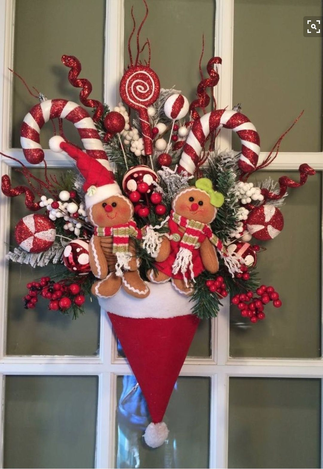 santa hat chair back covers hobby lobby best chairs geneva glider ottoman espresso caviar velvet just purchased ginger bread girl and boy at