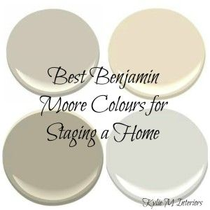 The 8 Best Benjamin Moore Paint Colours For Home Staging Ing