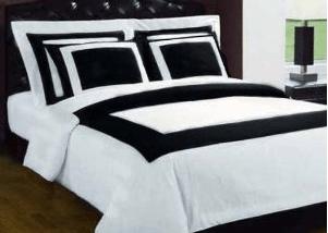 black and white bedding | design | pinterest | white bedding