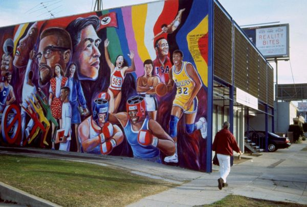 Sports Mural Los Angeles