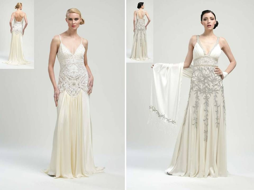 1920s Inspired Bridal Gowns On Pinterest