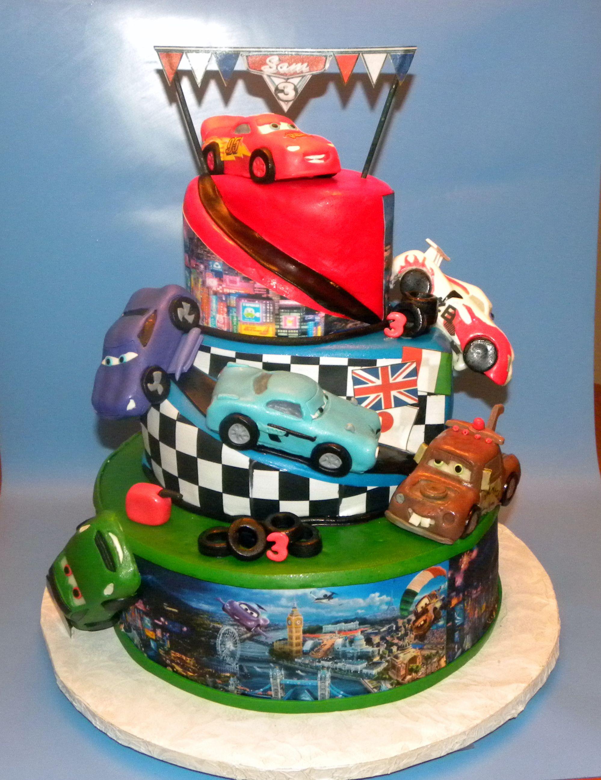 Cars Cakes Cars 2 Cake