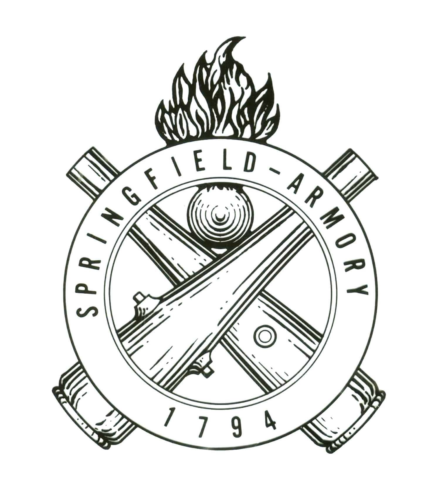 Springfield Armory S Us Ordnance Department Crest