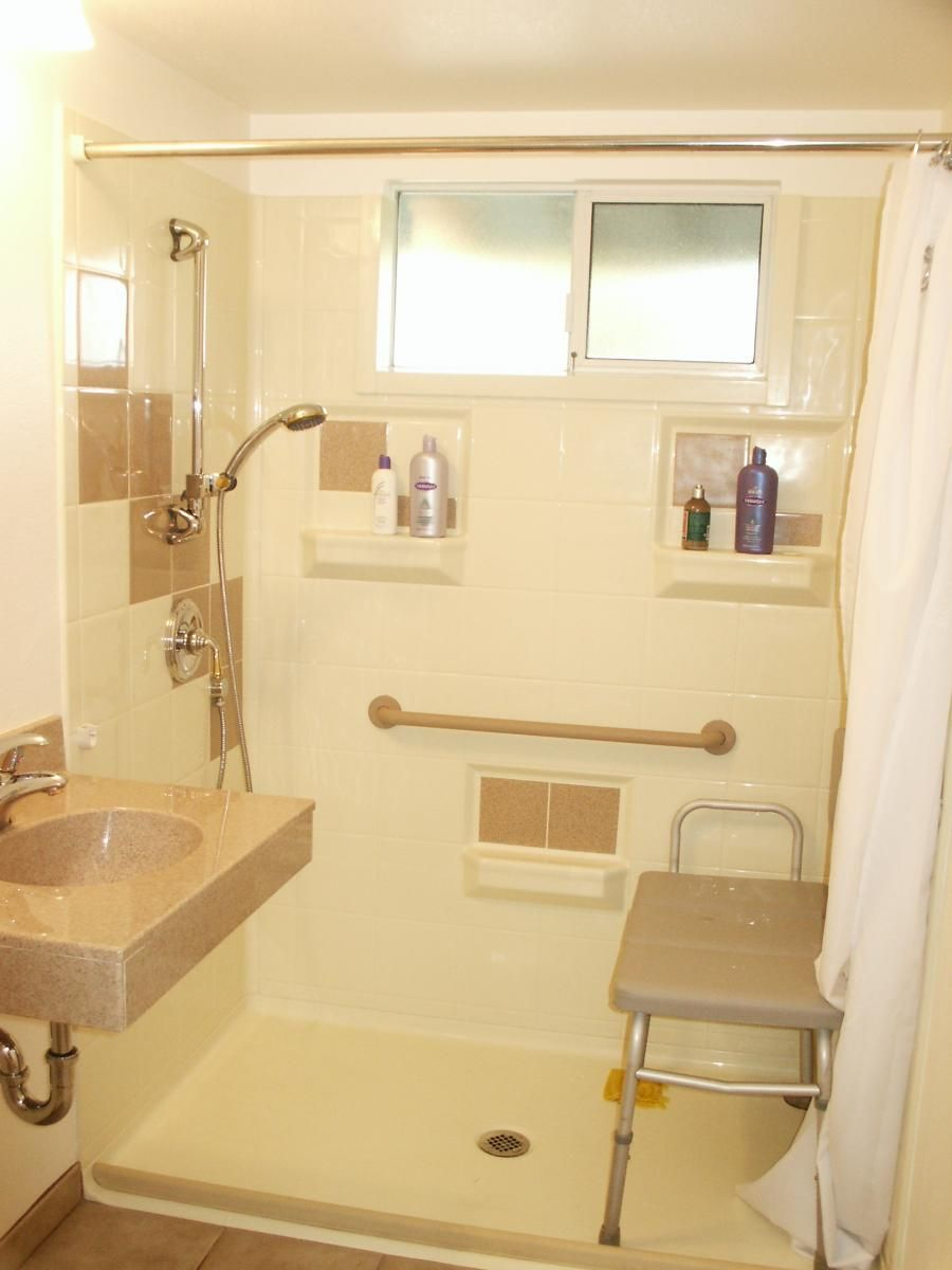 HandicapAccessible Bathroom Designs WetRoomsforDisabled