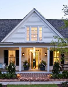 Southern living idea house  swear they must have crawled into my head to see exact dream home from the outside floor plan interior also farmhouse revival plans huise rh pinterest