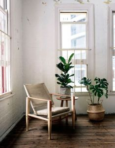 Beautiful interior room decoration with wooden floor   arm chair as well has also rh pinterest