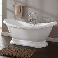 Rosalind Acrylic Pedestal Tub   Pedestal tub, Pedestal and ...