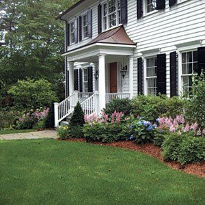 Foundation Planting This Is Perfect For The House In Yarmouth