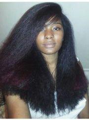love blow dried natural hair