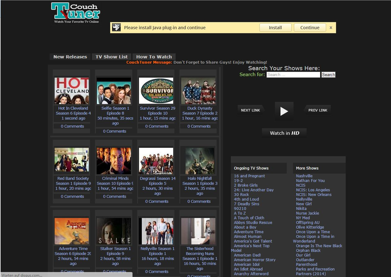 CouchTuner Is The #1 Source Of Watch Series Online For Free Get