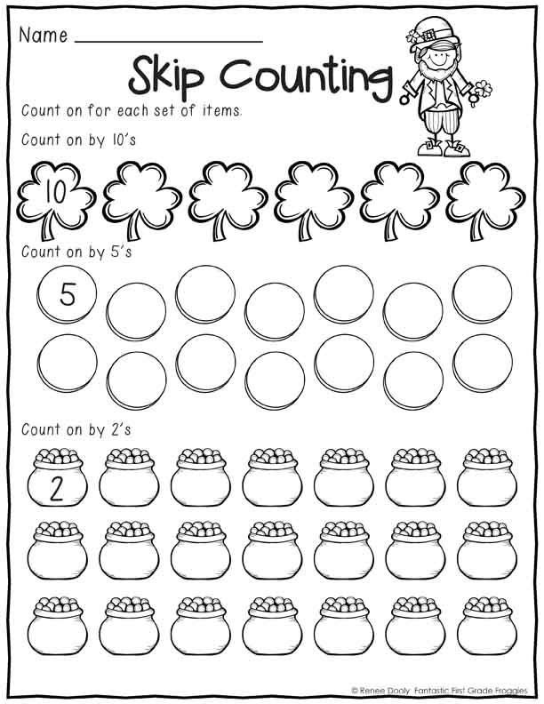 Printables March Print and Do- No Prep Math and Literacy