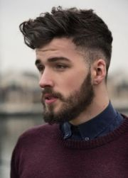 top mens hairstyles with beards