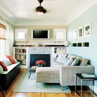 Stylish Living in 700 Square Feet | Small living rooms ...