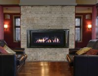 Linear gas fireplaces like this Stellar CML-58 are a great ...