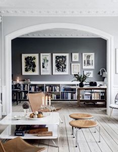 Style and create  the inspiring home of danish interior stylist cille grut photo by chris tonnesen for elle decoration denmark also feeling very inspired to wield  paint brush after last night  talk rh za pinterest