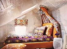 Attic Bedroom With A Hippie Vibe | Hippie Boho Chic Style ...