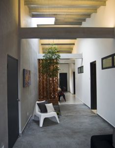 High ceiling maintained to give the interior  larger feel also for rh pinterest
