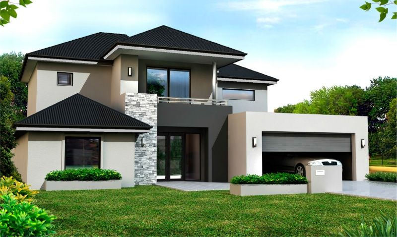 The Escalade II Is A Spacious Double Storey House With Separate