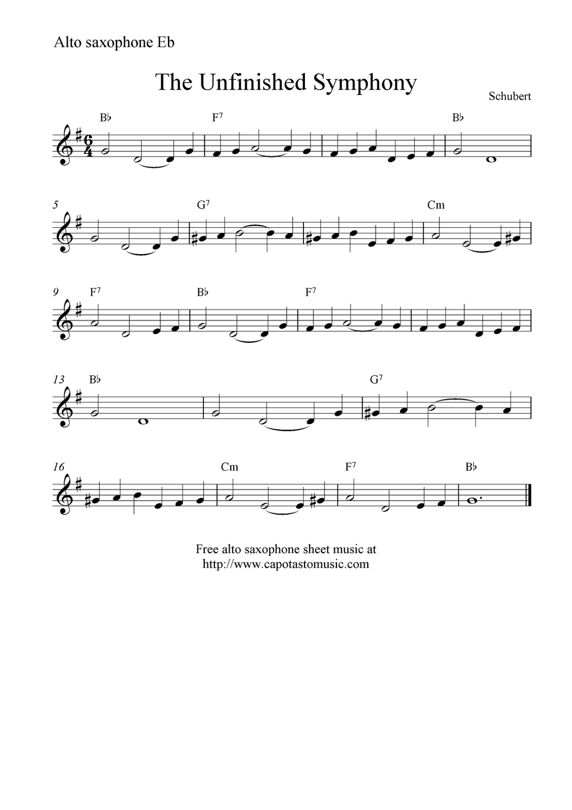 Printable Sheet Music Rhapsody Blue