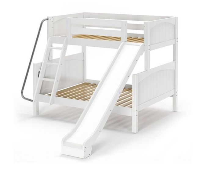 Bunk Bed With Slide Is A Modified 2 Mopping Floors To The First Mattressfull