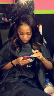 side part sew in hairstyle 3