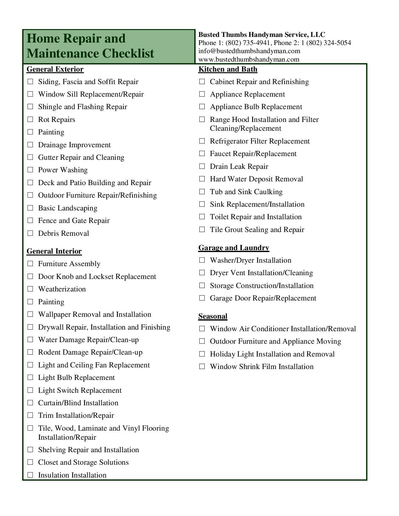 New Home Interior Design Checklist