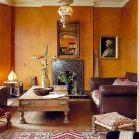 Moroccan tile fireplace | Home - Boho Hideaway | Pinterest ...