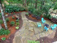 Shady backyard | A Very, Very, Very Fine House | Pinterest ...