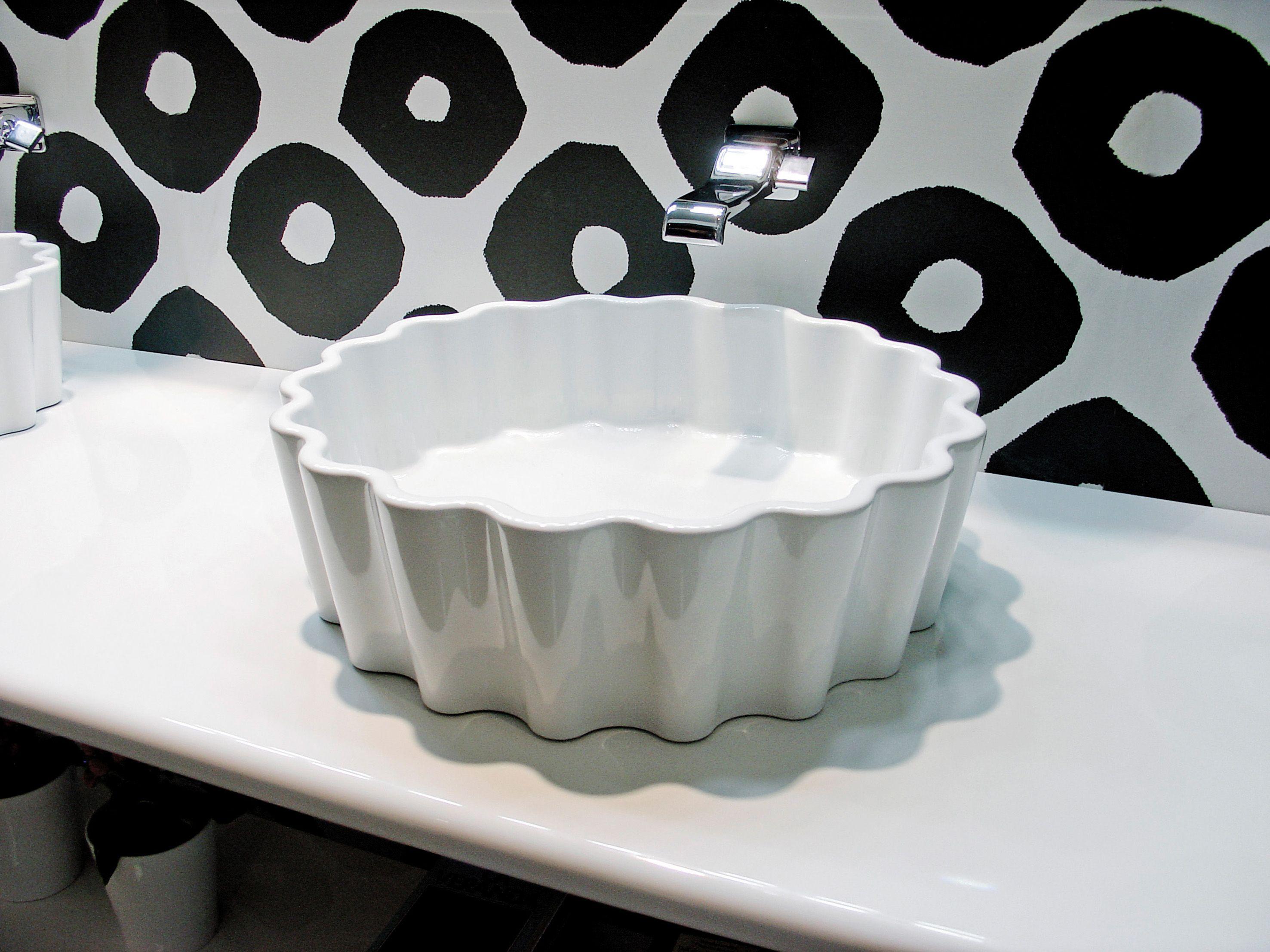 Innovative Bathroom Basin Cup by Artceram