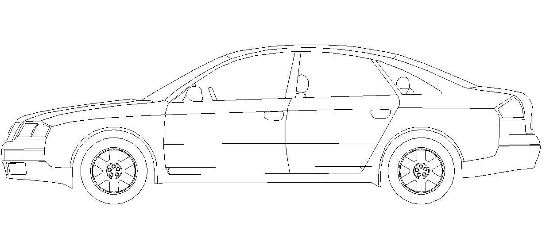 Dwg Adı : Audi a6 çizimi İndirme Linki : http://www