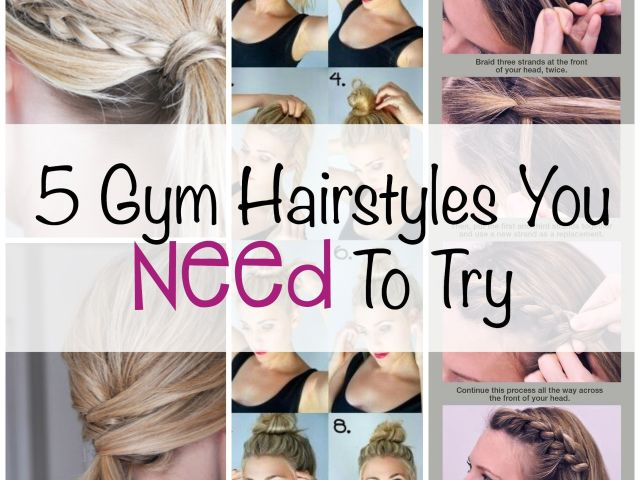 5 gym hairstyles you need to try - quick and easy updos for your