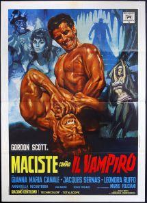 Maciste Contro Il Vampiro 1961 Amazing And Insane