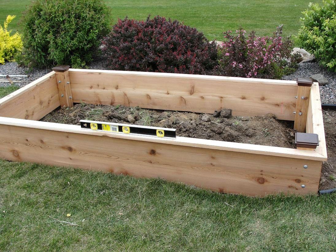 Raised Garden Bed Designs Idea Raised Garden Bed Ideas In Home