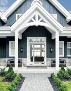 Rustic meets refined in this new build family cottage also robins met rh pinterest