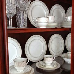 White Hutches For Kitchen Lowes Cabinets Sale Tips On How To Arrange A China Cabinet | ...