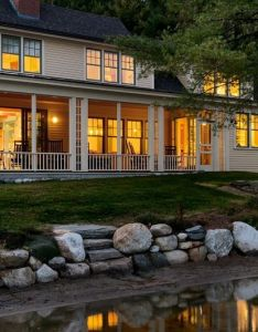 Farmhouse exterior  beautiful home inside  out also general rh pinterest