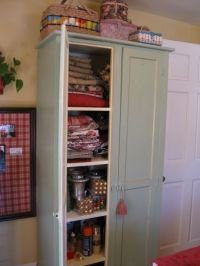 Sewing Room Storage Cabinet